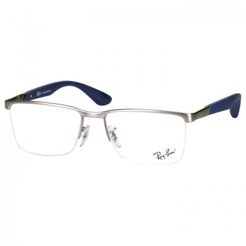 Armação De Óculos De Grau - Rayban - R  250,00 em Mercado Livre 0dca5abac4
