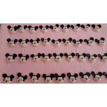 Mickey Para Decorar Doces. Material Biscuit. Pacote Com 50 U