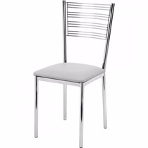 Cadeira Gold Em Aço Inox Aisi 304  Polido  100 X 40 X 40 Cm