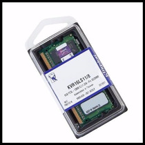 Memória Kingston 8gb Ddr3l 1600mhz 1,35v Low Voltage Sodimm