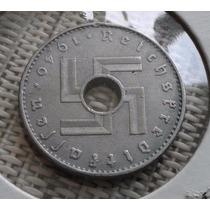 Moeda Alemanha 10 Reichspfennig Raríssima Reichskreditkassen