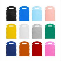 50 Sacolinha Em Tnt Lixeira Para Carro Lixocar Liso