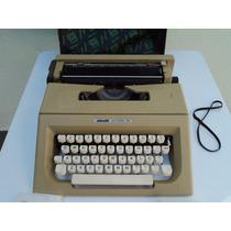 Maquina De Escrever - Olivetti Lettera 25 - Case Original