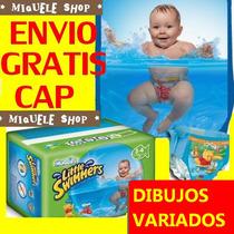 Pañales Huggies Little Swimmers Agua - Envio Gratis Cap!!