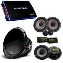 Kit Pro Audiophonic - Club 800.4 + C1-12d2 + Cs650v2 + Ks6.2