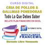 MANUAL DE CRÍA Y MANEJO DEL POLLO DE ENGORDE