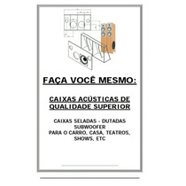 Livro Construção De Caixa Acústica Em Pdf