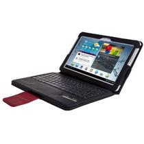 Samsung Galaxy Note 10.1 Bluetooth Teclado Caso Cartera - Te