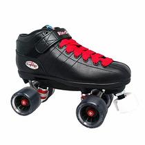 Patines Jackson Skates Negro/rojo 7 Usa