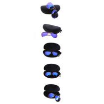 Estuche Rigido Protector Negro Para Lentes Gafas Armazón
