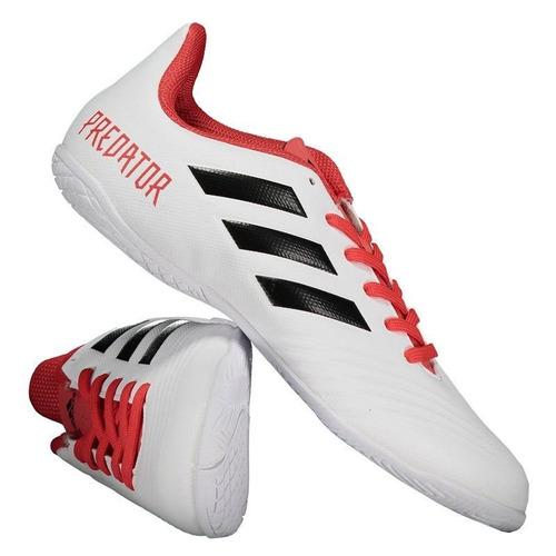 Chuteira adidas Predator 18.4 In Futsal Branca - R  229 ac8def9a2da04