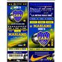Tarjeta Invitacion Cumple Boca Juniors Tipo Entrada X40