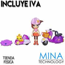 Muñeca Con Moto Y Accesorios My Littlest Pet Shop - A8230