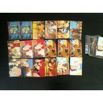 44 Tarjetas La Bella Y La Bestia, Sonrics. Walt Disney.