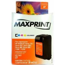 Cartucho Compatível Hp 1823 Colorido - Maxprint