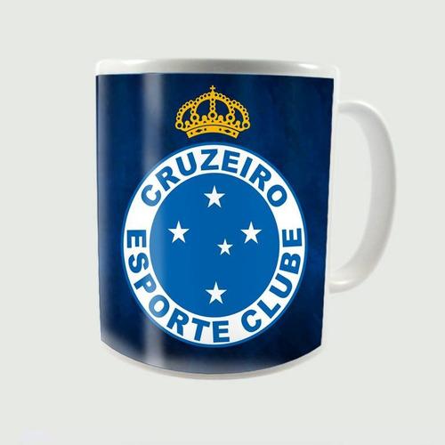 Caneca Porcelana Personalizada Cruzeiro - R  22 7e712d354a2f2