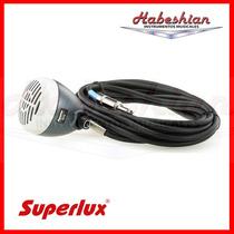 Microfono De Armonica Superlux D112c Vol.+cable - En Palermo