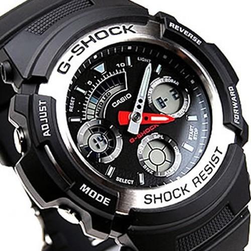 fb2e264eea4 Relógio Casio G Shock Aw 590 100% Original - Imperdível - R  249