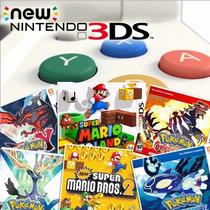 New 3ds + 17 Jogos Originais + 2 Capas + Amiibo + Pelicula