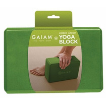 Ladrillo De Yoga Gaiam Apple Green Yoga Block