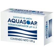Aquasoap Jabon Dermolimpiador Ph 6.5 120g Remexa