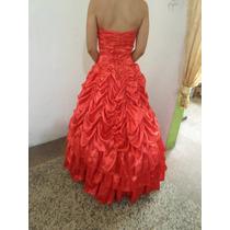 Vestido Rojo 15 Años