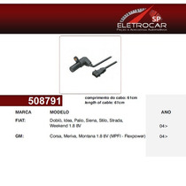 Sensor De Rotação Fiat Palio, Siena, Stilo, Strada, Weekend