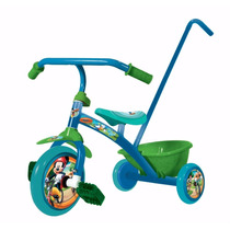 Triciclo Nene Little Mickey Licencia Oficial +12meses