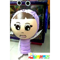 Piñata Tipo Boo Mickey Randall Sully Ninja Go