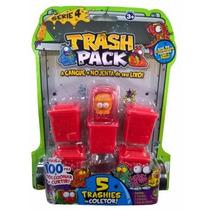 Trash Pack Serie 4 - 5 Trashies No Coletor (mod: 01 Ao 05)