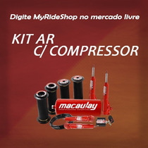 Kit Suspensão Ar1/2mm Pick-up Corsa C/ Compressor Myrideshop