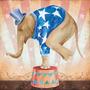 Papel Decoupage Arte Francesa Elefante De Circo Ii Afq-334 -