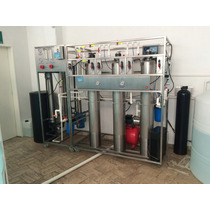 Planta Purificadora Agua Alcalina Osmosis Inversa Acero Inox
