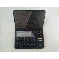Agenda Eletrônica Calculadora Sharp El-6073 Memo Master 100