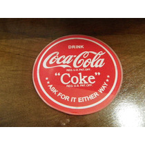 Posavaso De Coca Cola De Vidrio