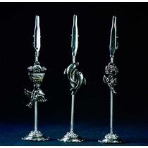 Tarjetero Señalador Metal, Varios Modelos, Numero De Mesa