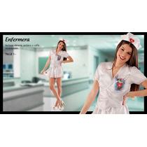 Disfraz Enfermera Sexy Con Toca