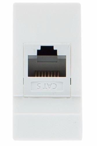Módulo De Datos Leviton, Color Blanco, Línea Cien - $ 71.74 en ...