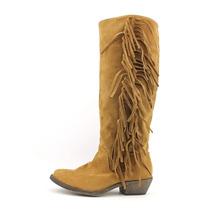 Material Girl Cody Botas Vaqueras Color Camello Talla 3