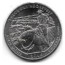 5 Monedas Estados Unidos Parques Nacionales Año 2010 A 2016