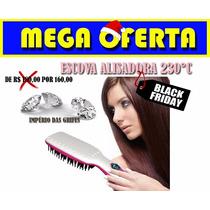 Escova Magica Alisadora Chapinha Elétrica 230°c Magic Hair