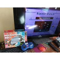 Intellivision Plug And Play Tv Con 10 Juegos