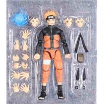 Boneco Naruto Uzumaki Articulado - Pronta Entrega