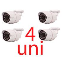 Kit 4 Camera Vigilância 1/3 Ccd Sony Ir 3,6mm 1ano Garantia