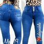 Pantalon Jeans De Dama Studio F Moda Colombiana Negros