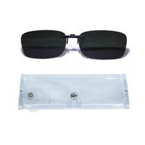 Gafas Clip-on, Cubrelentes Polarizadas Uv400 Negras Y Verdes