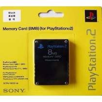 10 Memory Card Cartão Memória Ps2 Playstation 2 8mb Original