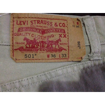 Jeans Levis 501 Mexicano 36 Caballero Original Oferta