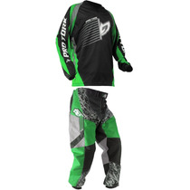 Conjunto Insane Pro Tork Infantil Trilha Motocross Off Road