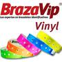 Brazaletes Vinyl Personalizados